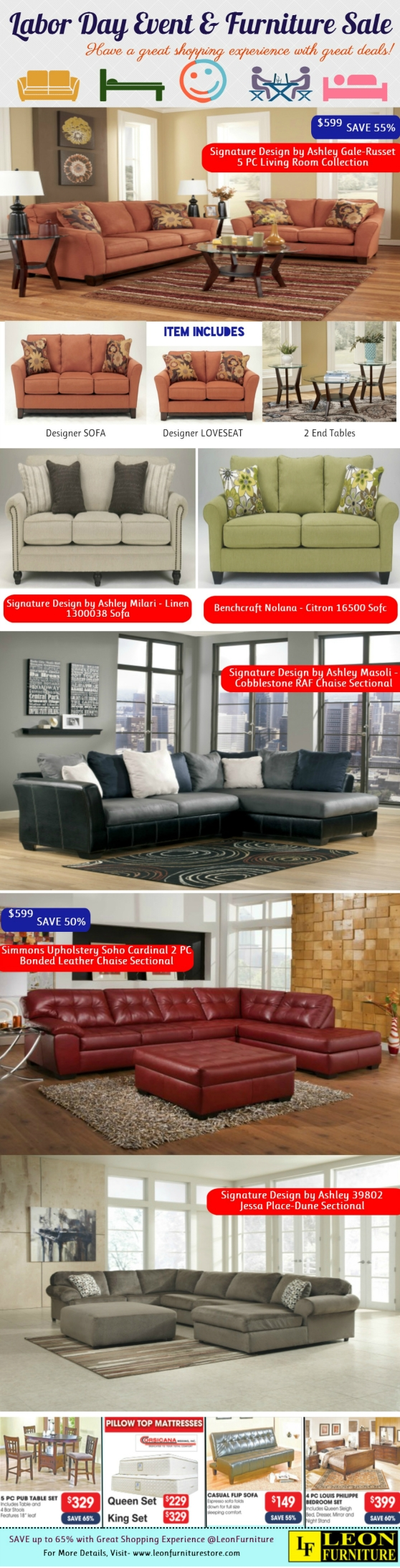 Labor Day Event and Furniture Sale