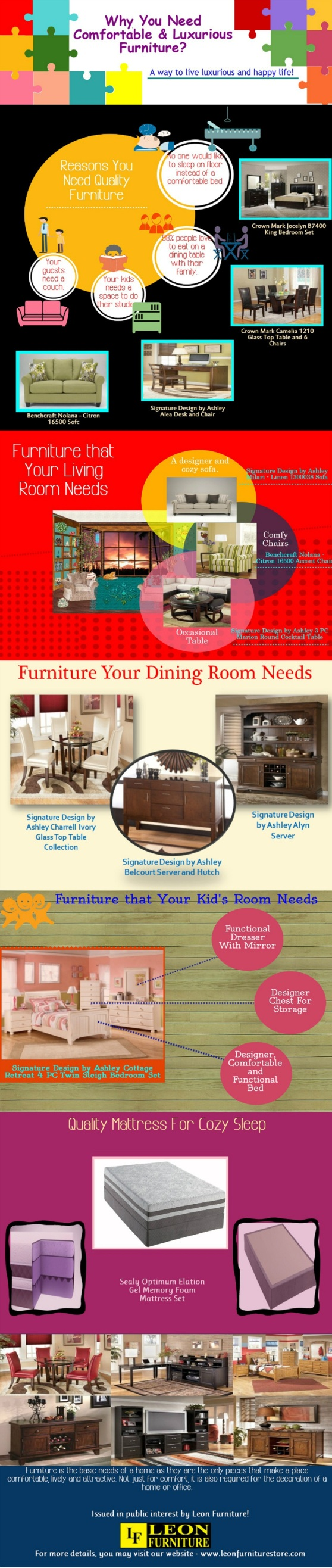 Why You Need Comfortable and Luxurious Furniture-