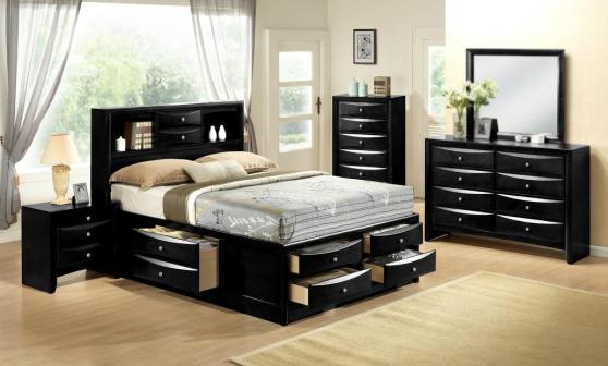 Crown Mark Stella B4285 Queen Storage Bedroom Set
