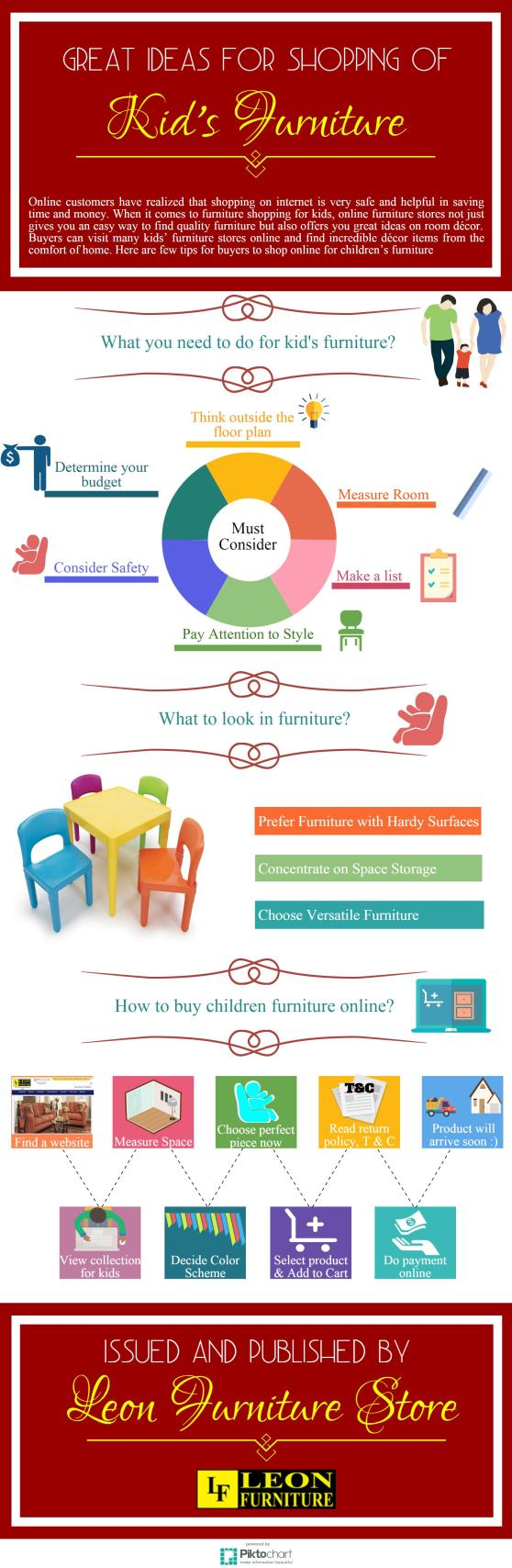 Great Ideas for shopping of kids furniture