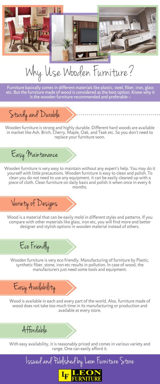 Why Use Wooden Furniture