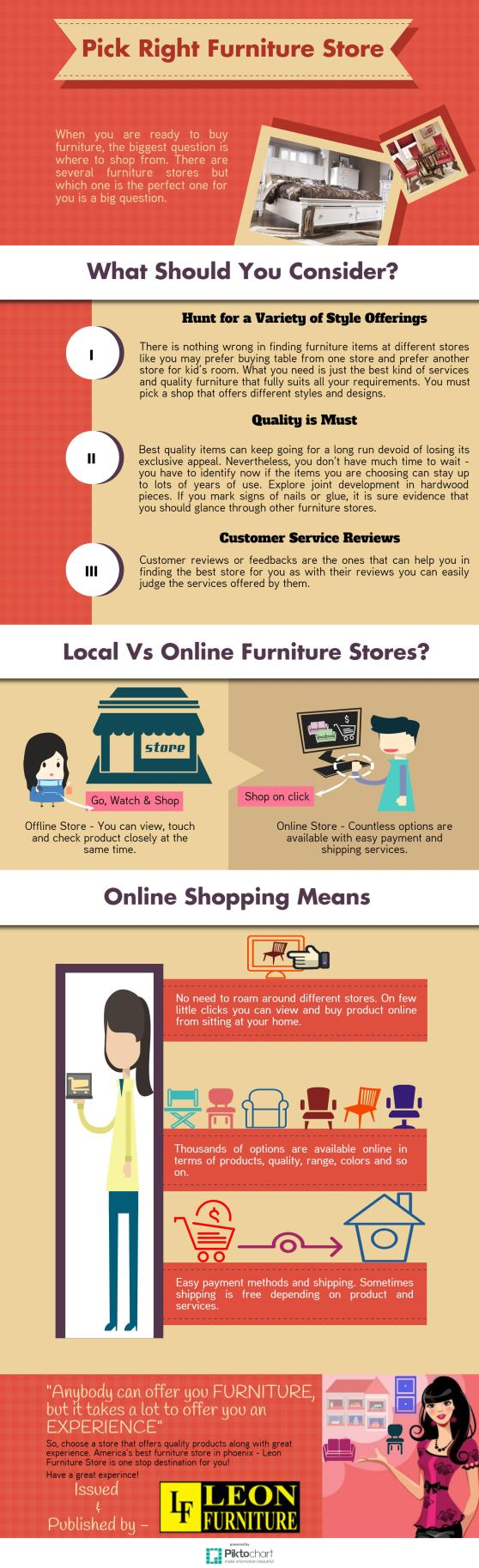 How to Pick Right Furniture Store